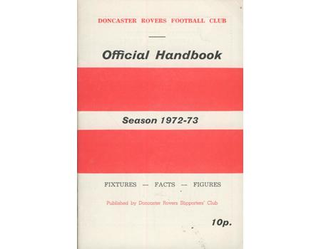 DONCASTER ROVERS OFFICIAL HANDBOOK 1972-73