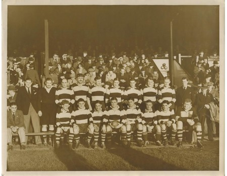 COVENTRY RUGBY CLUB 1938 TEAM PHOTOGRAPH