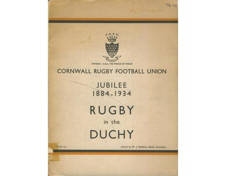 RUGBY IN THE DUCHY