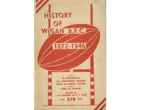 HISTORY OF WIGAN R.F.C. 1872-1946