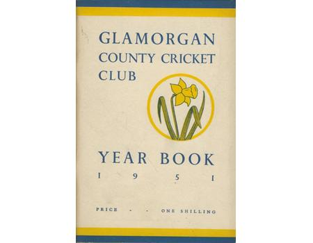 GLAMORGAN COUNTY CRICKET CLUB YEAR BOOK 1951