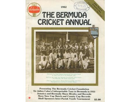 THE BERMUDA CRICKET ANNUAL 1982