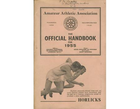 AMATEUR ATHLETIC ASSOCIATION HANDBOOK 1955