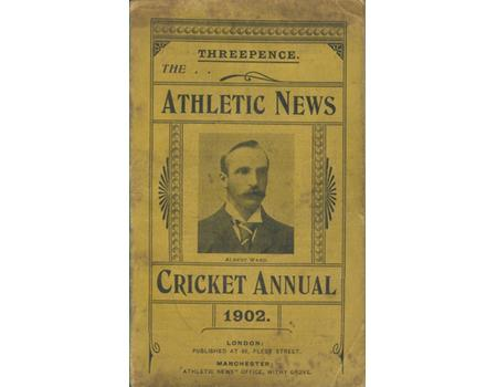 ATHLETIC NEWS CRICKET ANNUAL 1902