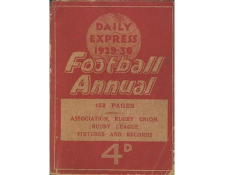 DAILY EXPRESS FOOTBALL ANNUAL 1929-30