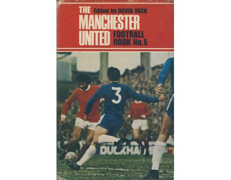 MANCHESTER UNITED FOOTBALL BOOK NO.6