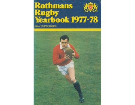 ROTHMANS RUGBY YEARBOOK 1977-78