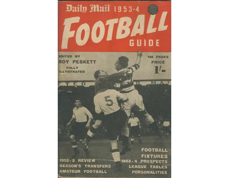 DAILY MAIL FOOTBALL GUIDE 1953-54