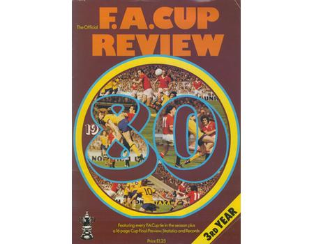 THE OFFICIAL F.A. CUP REVIEW 1980