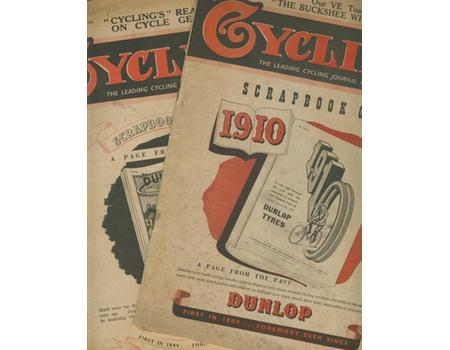 CYCLING MAGAZINE 1945 (2 ISSUES)