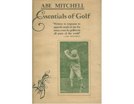 ESSENTIALS OF GOLF: EDITED AND ARRANGED BY J. MARTIN