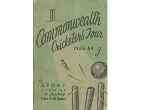 COMMONWEALTH CRICKETERS