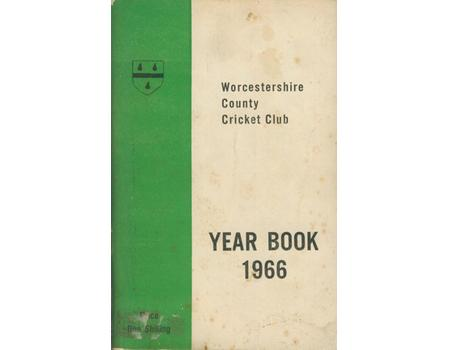 WORCESTERSHIRE COUNTY CRICKET CLUB YEAR BOOK 1966