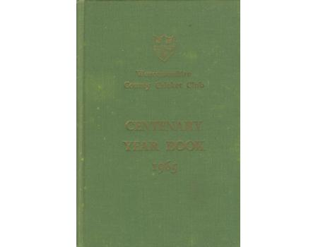 WORCESTERSHIRE COUNTY CRICKET CLUB YEAR BOOK 1965
