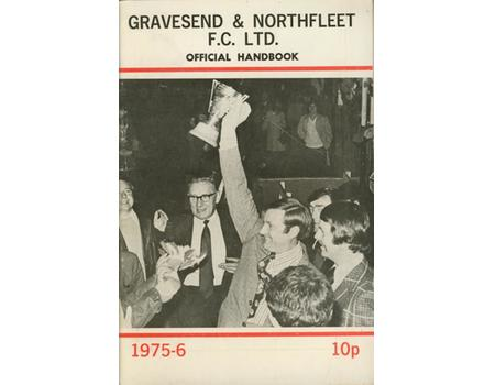 GRAVESEND & NORTHFLEET FOOTBALL CLUB OFFICIAL HANDBOOK 1975-76