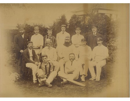 ENGLAND 1884 (THE TEAM THAT PLAYED AUSTRALIA AT LORD