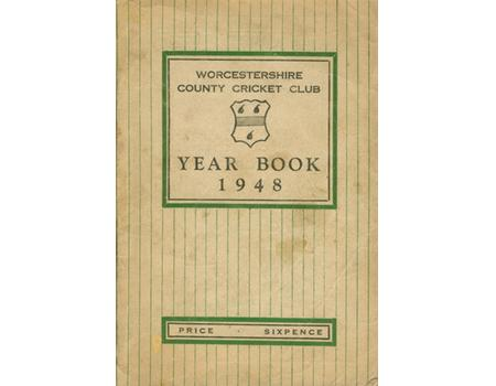 WORCESTERSHIRE COUNTY CRICKET CLUB YEAR BOOK 1948