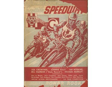 THE FIRST BOOK OF SCOTTISH SPEEDWAY