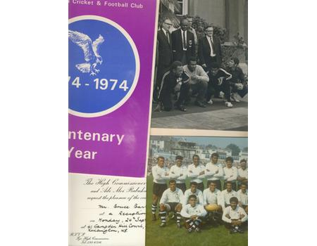 FIJI RUGBY TOUR TO UK 1973 (VISIT TO SWANSEA) - COLLECTION OF EPHEMERA FROM BRUCE BARTER