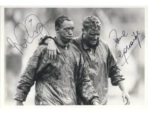 England football: Paul Gascoigne & Ian Wright