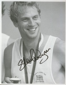 Sir Steve Redgrave in 1988 at the Seoul Olympics