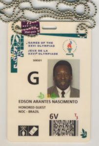 the olympics, pele, atlanta, 1996, sportspages