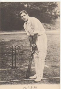 cb fry, cricket, sussex cricket, england cricket, southampton football, cricket memorabilia, cricket postcard, sport and politics, sports
