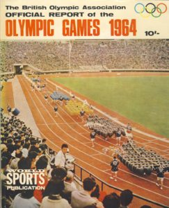 Tokyo olympics, 1964 olympics, olympic games, olympic games official report, 1964